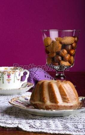 mini pound cake almond lemon
