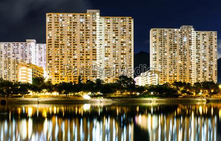 public housing building in hong kong