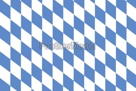 bavarian diamond pattern as background