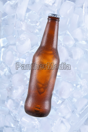 one cold beer