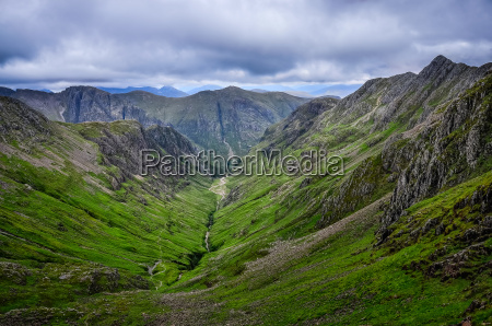 view of mountains in glen coe