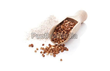 buckwheat and flour