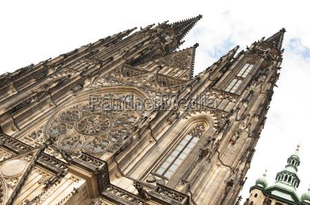 st vitus cathedral prague czech