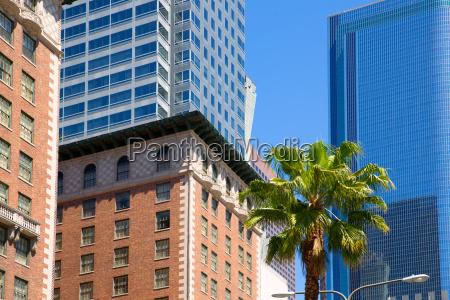 la downtown los angeles pershing square