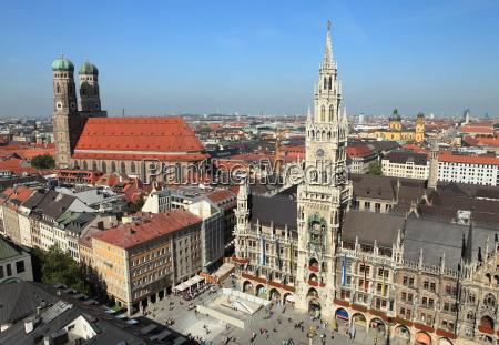 marienplatz, munich, -, new, town, hall - 10004490