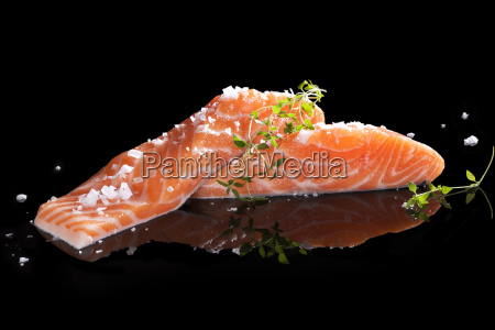 delicious, salmon. - 10005294