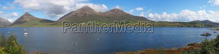 panoramic highland scotland
