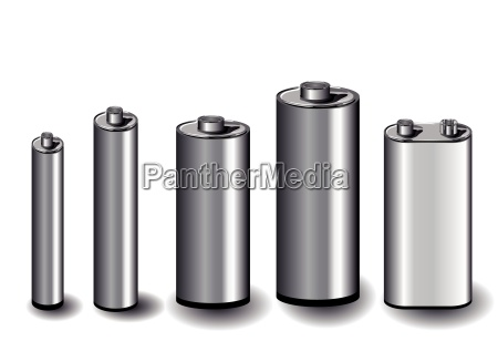 five batteries