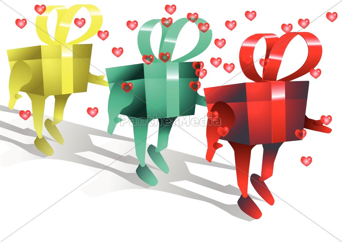 walking, gifts - 10016716