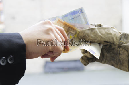 payment of work