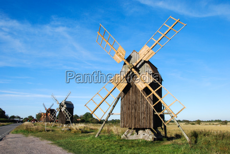 windmills, row - 10020422