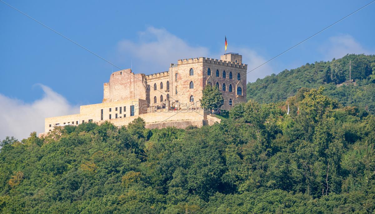 hambach, castle, on, the, german, wine - 10029998