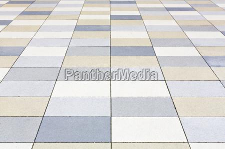 modern pavement