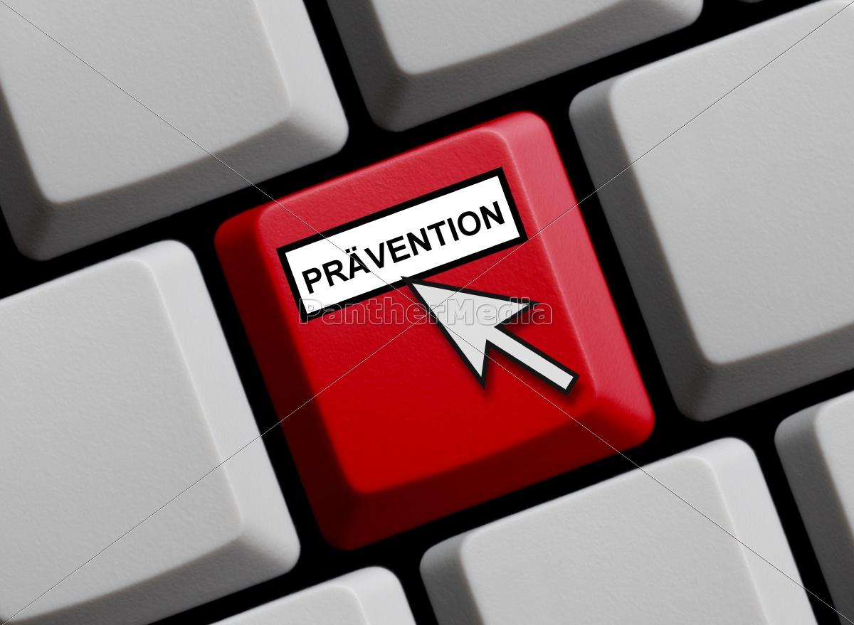 prevention, online - 10031418