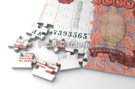 ruble, and, puzzle - 10034142
