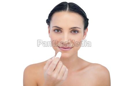 natural, model, using, lip, balm - 10038416