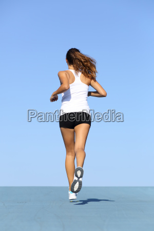 woman, jogging, training, sport, sports, run - 10043444