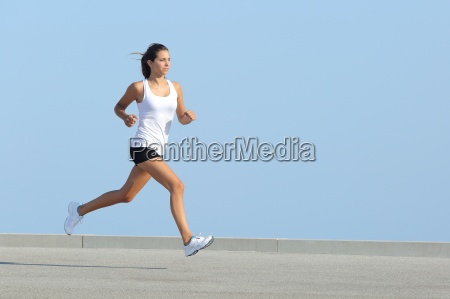 woman, jogging, training, sport, sports, run - 10043512