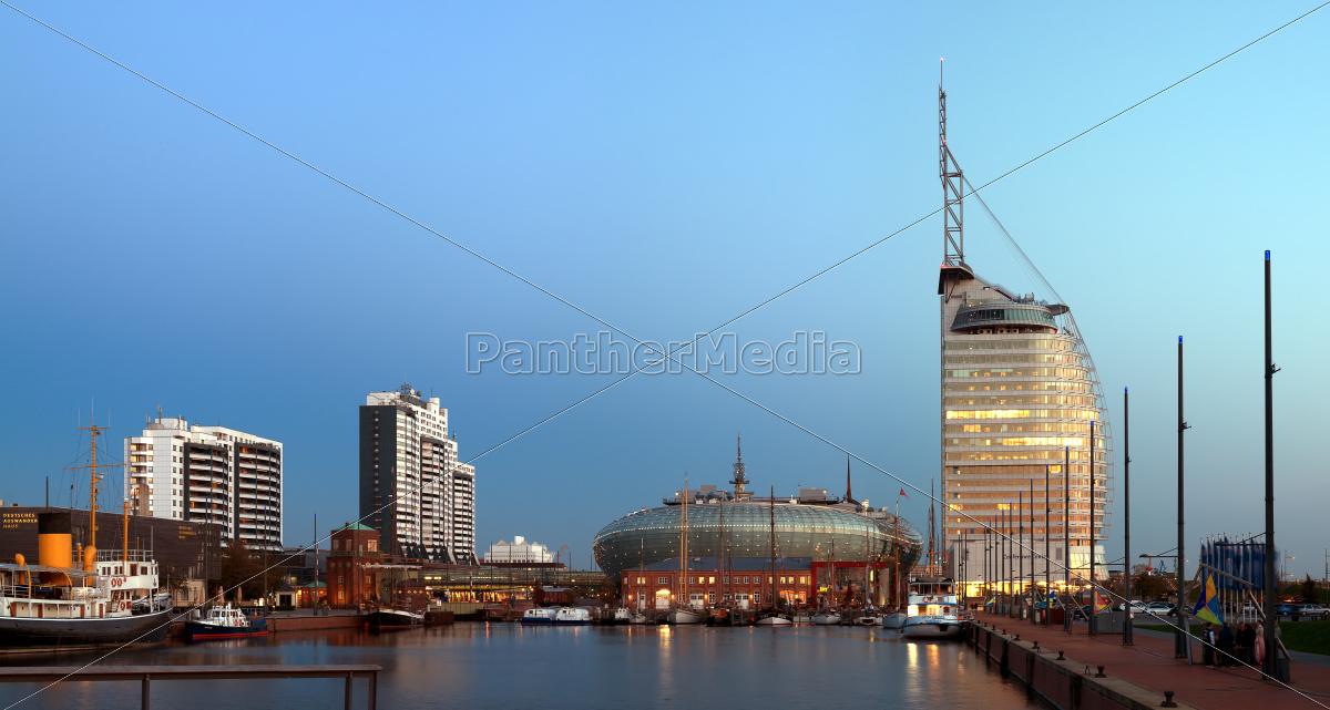 skyline, bremerhaven - 10047156
