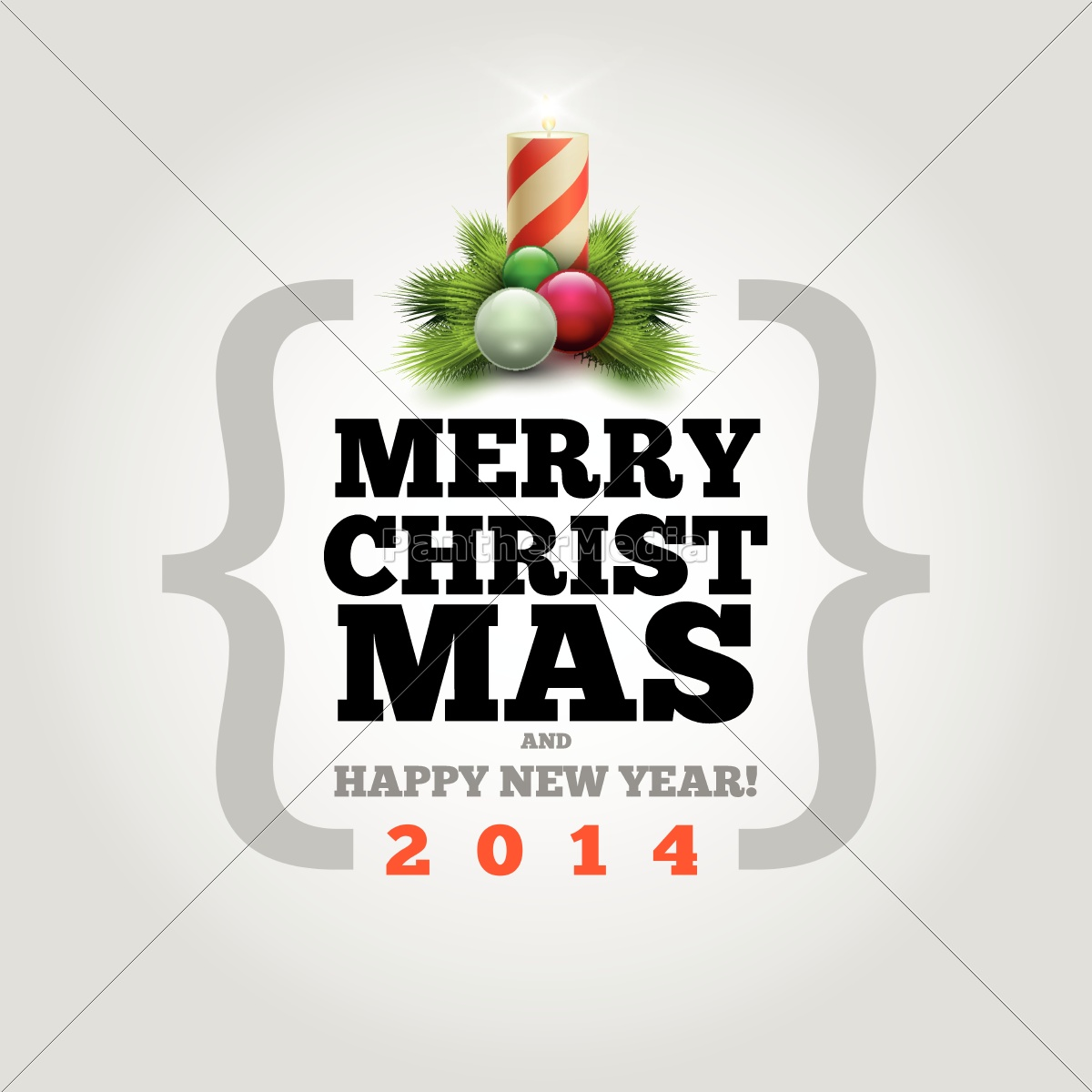 greeting, card, new year, christmas, vector, xmas - 10056284