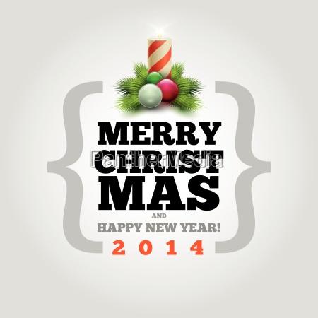 modern, christmas, card - 10056284