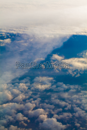 above aerial air craft airplane atmosphere