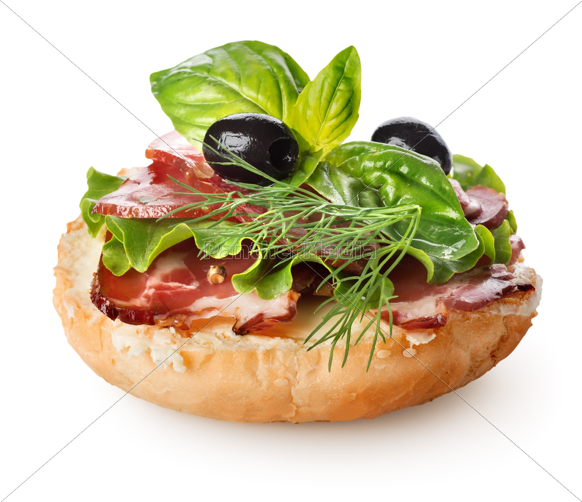 sandwich, with, bacon, and, salad - 10064764