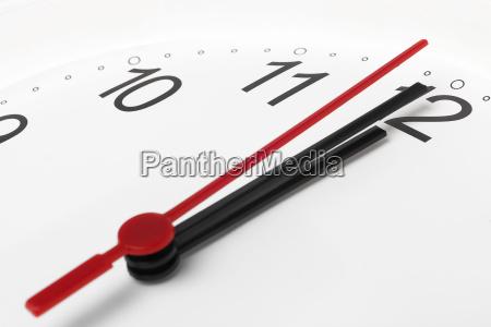 clock, time, running, to, midnight - 10072756