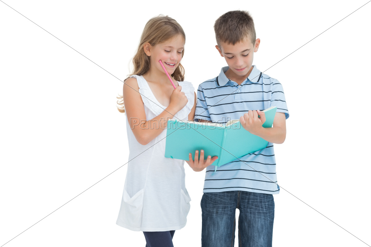 concentrated, brother, and, sister, learning, their - 10073662