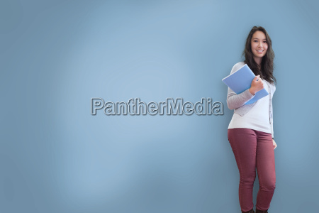 pretty, student, posing - 10077954