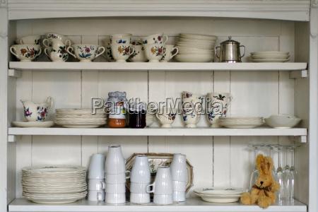 old kitchen shelf