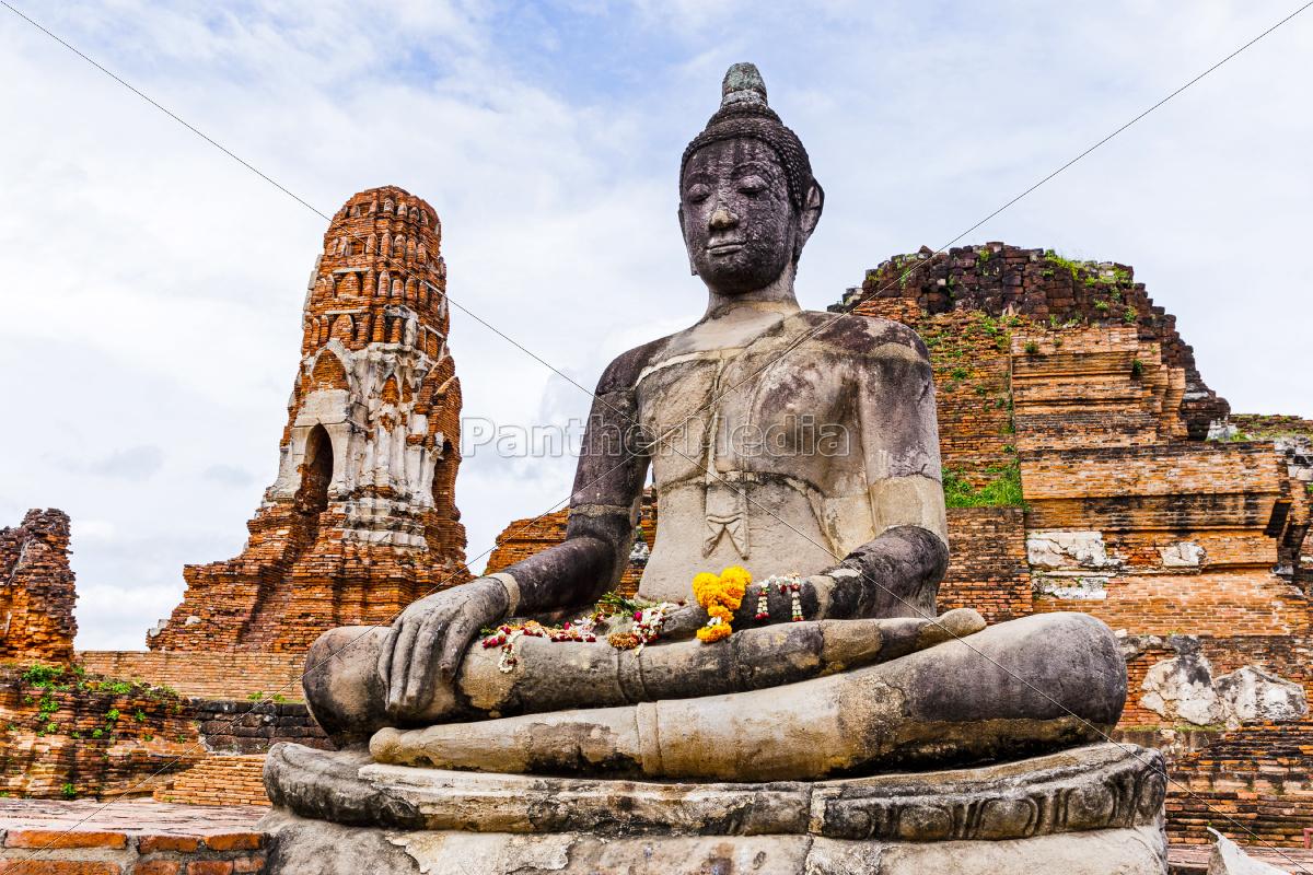 ancient, buddha, statue - 10086638