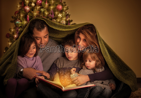 big, family, in, christmas, eve - 10088468