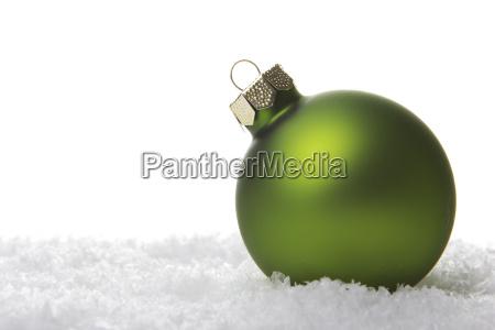 verde avvento albero di natale palla
