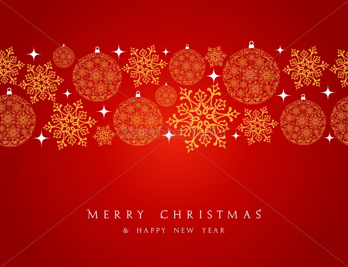 merry, christmas, decorations, elements, border. - 10100848