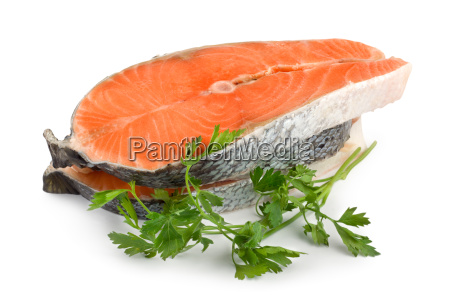 salmon isolated