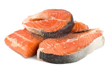 fillet salmon