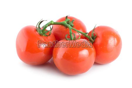 four ripe tomatoes