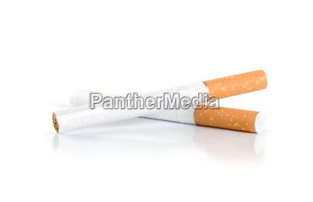 two cigarettes path