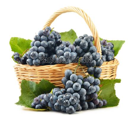 wicker, basket, full, of, fresh, red - 10107227