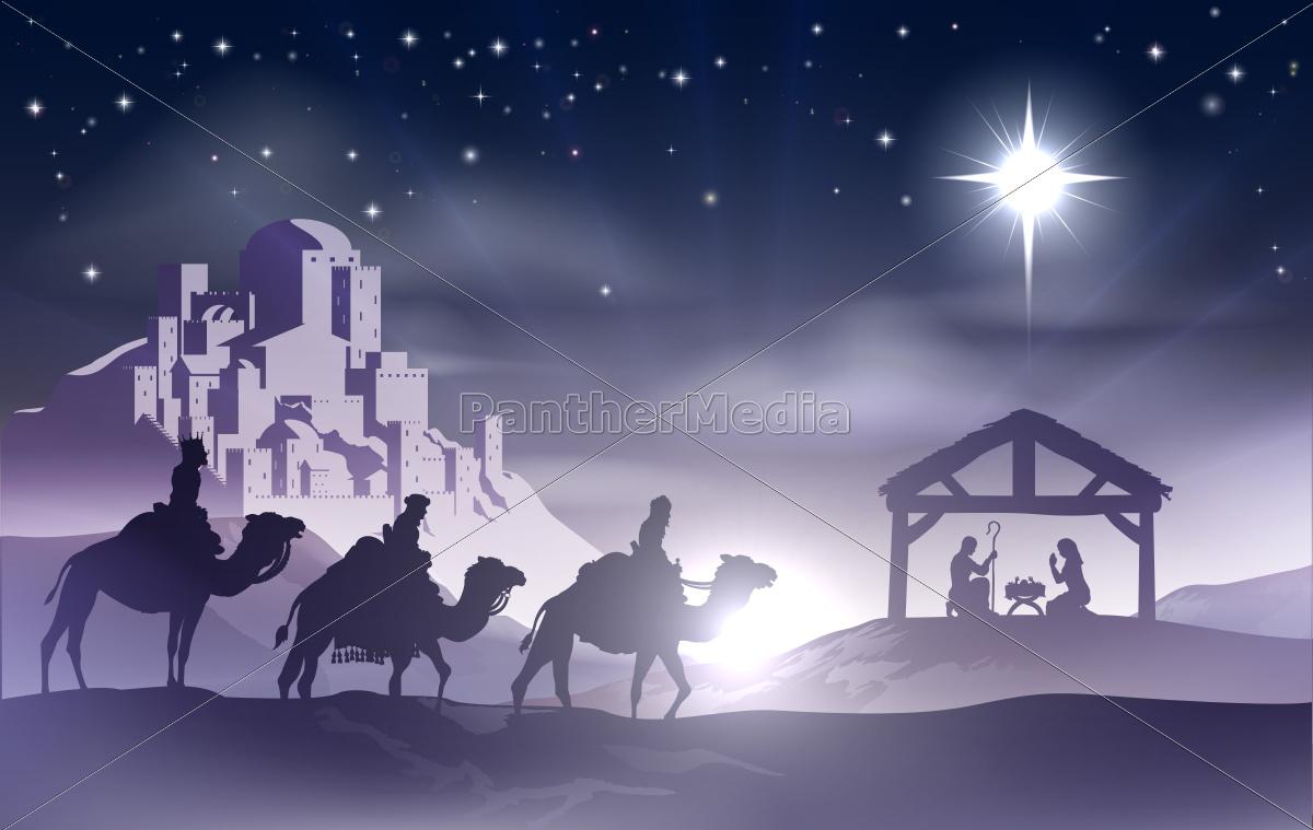 nativity, christmas, scene - 10108341