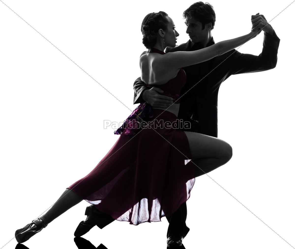 couple, man, woman, ballroom, dancers, tangoing - 10112967