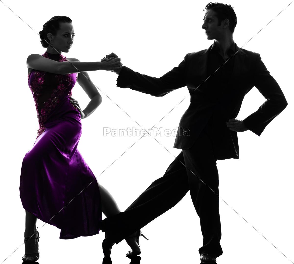 couple, man, woman, ballroom, dancers, tangoing - 10112971