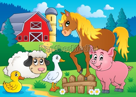 farm, animals, theme, image, 5 - 10113935