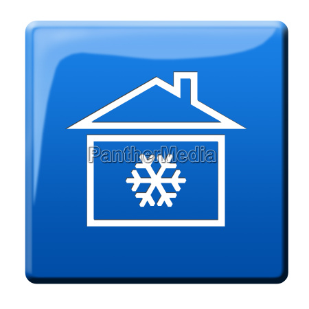 cold, house, icon - 10119389