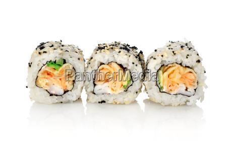 three, rolls, on, a, white, background - 10122037