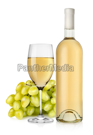 white, wine, and, grapes - 10123233