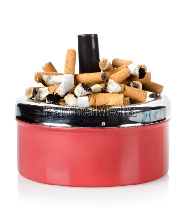 cigarettes and old ashtray