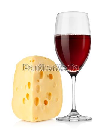 wine and dutch cheese