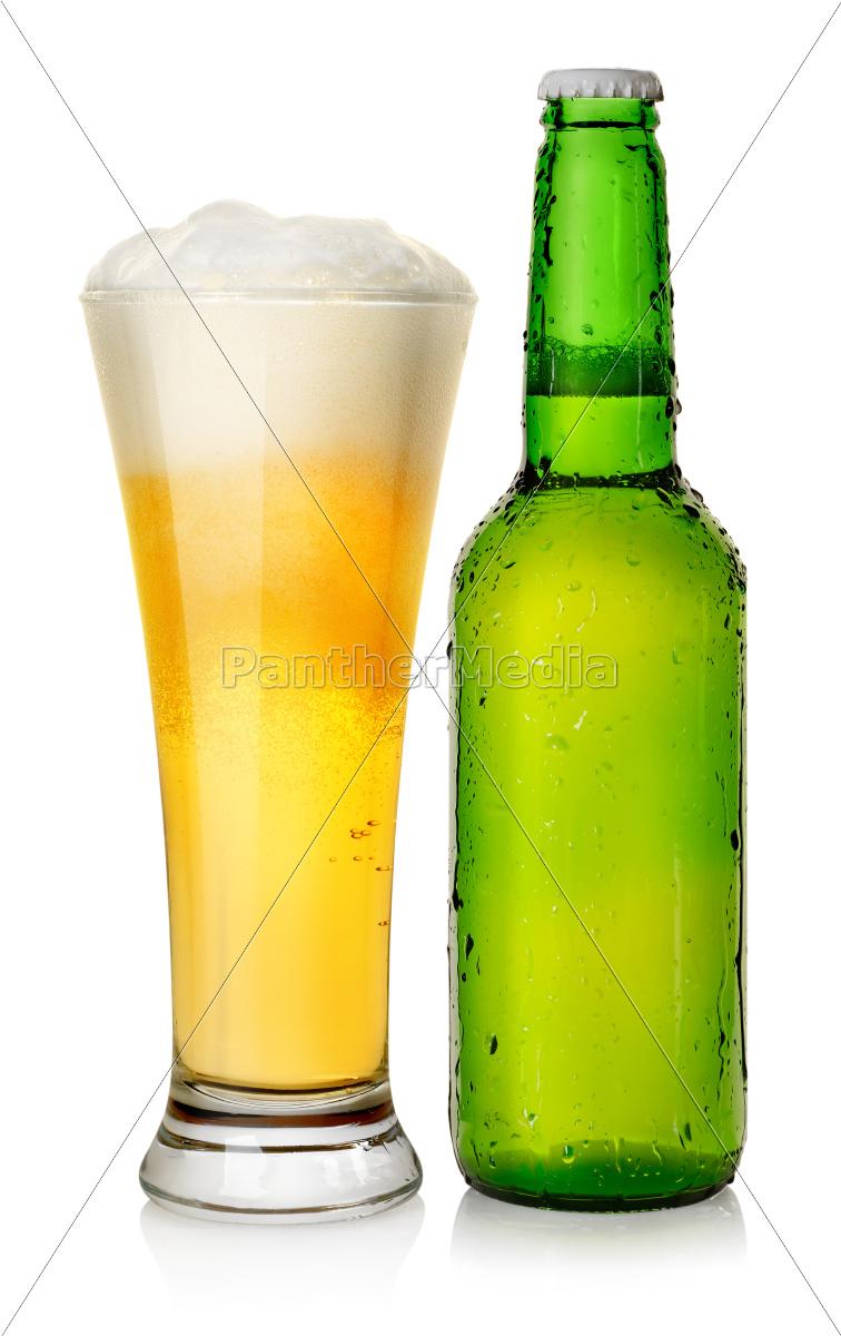 bottle, and, mug, beer - 10125641